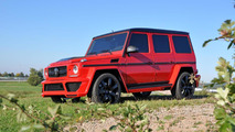 German Special Customs tunes the Mercedes G63 AMG