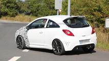 2014 Opel Corsa OPC Facelift prototype spy photo