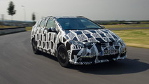 2014 Honda Civic Tourer camouflaged prototype 24.07.2013