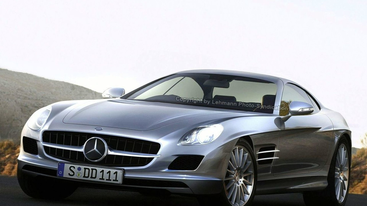 Mercedes AMG SLC artist rendering 1280