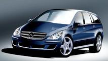 Mercedes-Benz R-Class Artist Rendering
