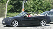 SPY PHOTOS: BMW 3-Series Cabrio Top Down