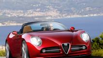 Alfa Romeo 8c Cabriolet - computer rendering