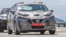 2017 Nissan Micra spy shots