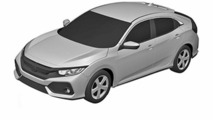 2017 Honda Civic hatchback patent images could show production version