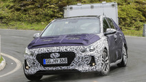 2017 Hyundai i30 spy photos from the Alps