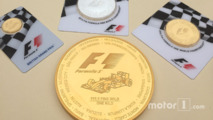 Precious metals dealer launches F1 gold coin worth $40,000