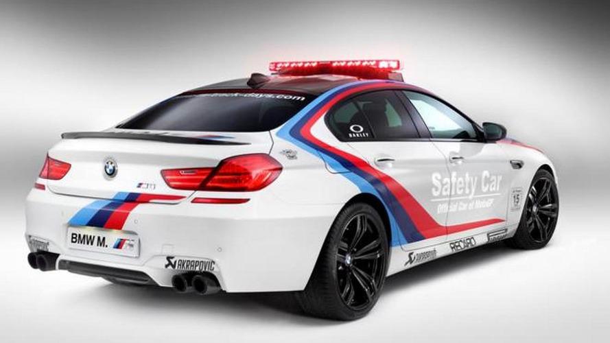 BMW M6 Gran Coupe MotoGP Safety Car revealed