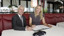 Maria Sharapova to become Porsche Brand Ambassador