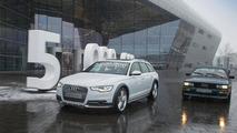 5 millionth Audi with quattro all-wheel drive 25.5.2013