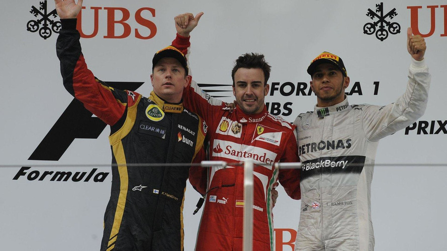 2013 Formula 1 Chinese Grand Prix [RESULTS]