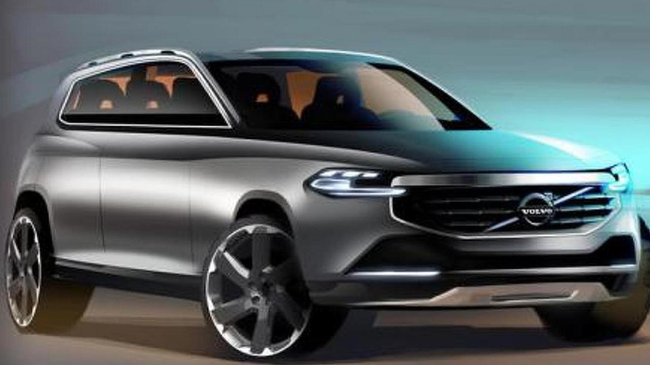 2015 Volvo XC90 sketch