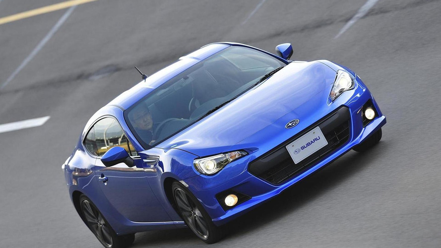 Subaru BRZ confirmed for America