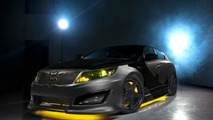 Kia reveals Batman-inspired Optima