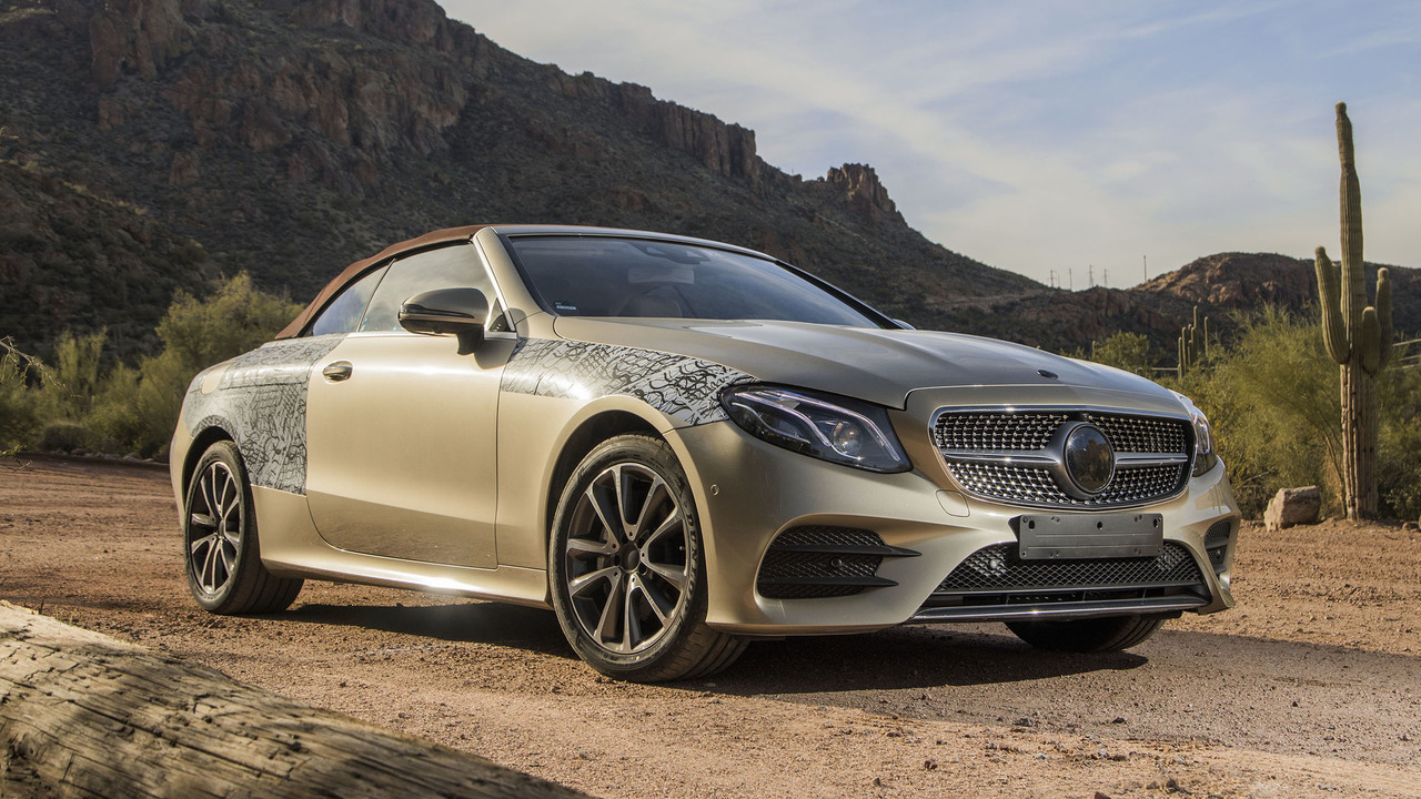 E400 Coupe 2018 >> 2018 Mercedes-Benz E-Class Cabriolet First Ride: The makings of a topless beauty