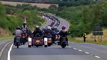 Triumph parade sets world record