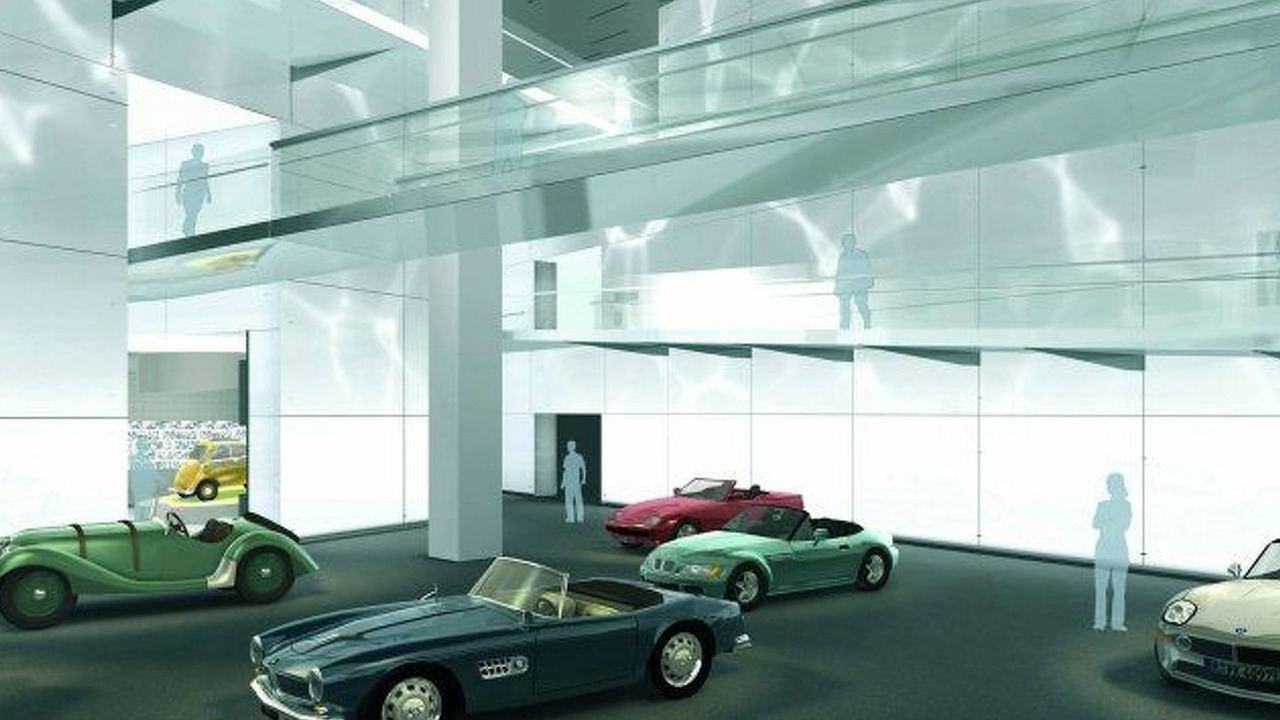 BMW Museum Illustration