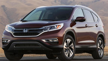 Honda CR-V facelift official photo surfaces the web