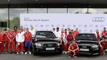 German record champion received new Audi fleet
