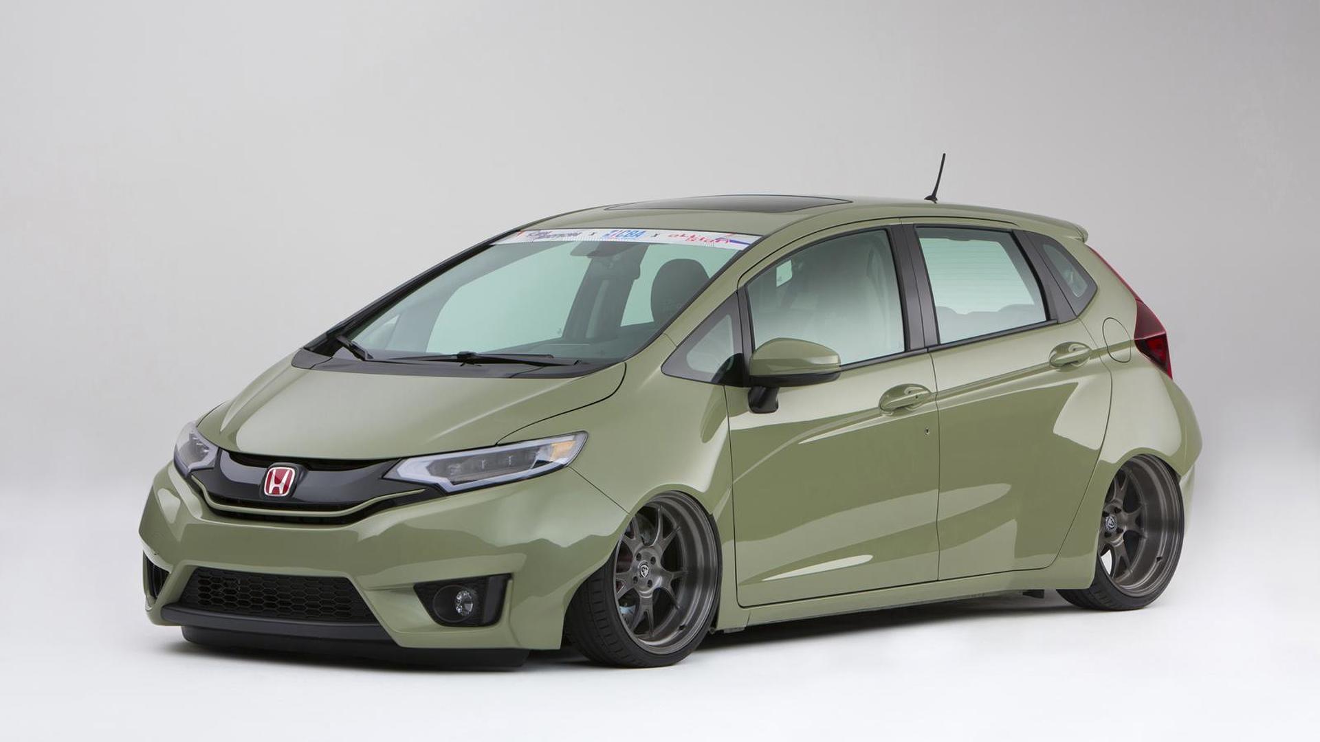 Honda introduces nine customized 2015 Fit versions at SEMA