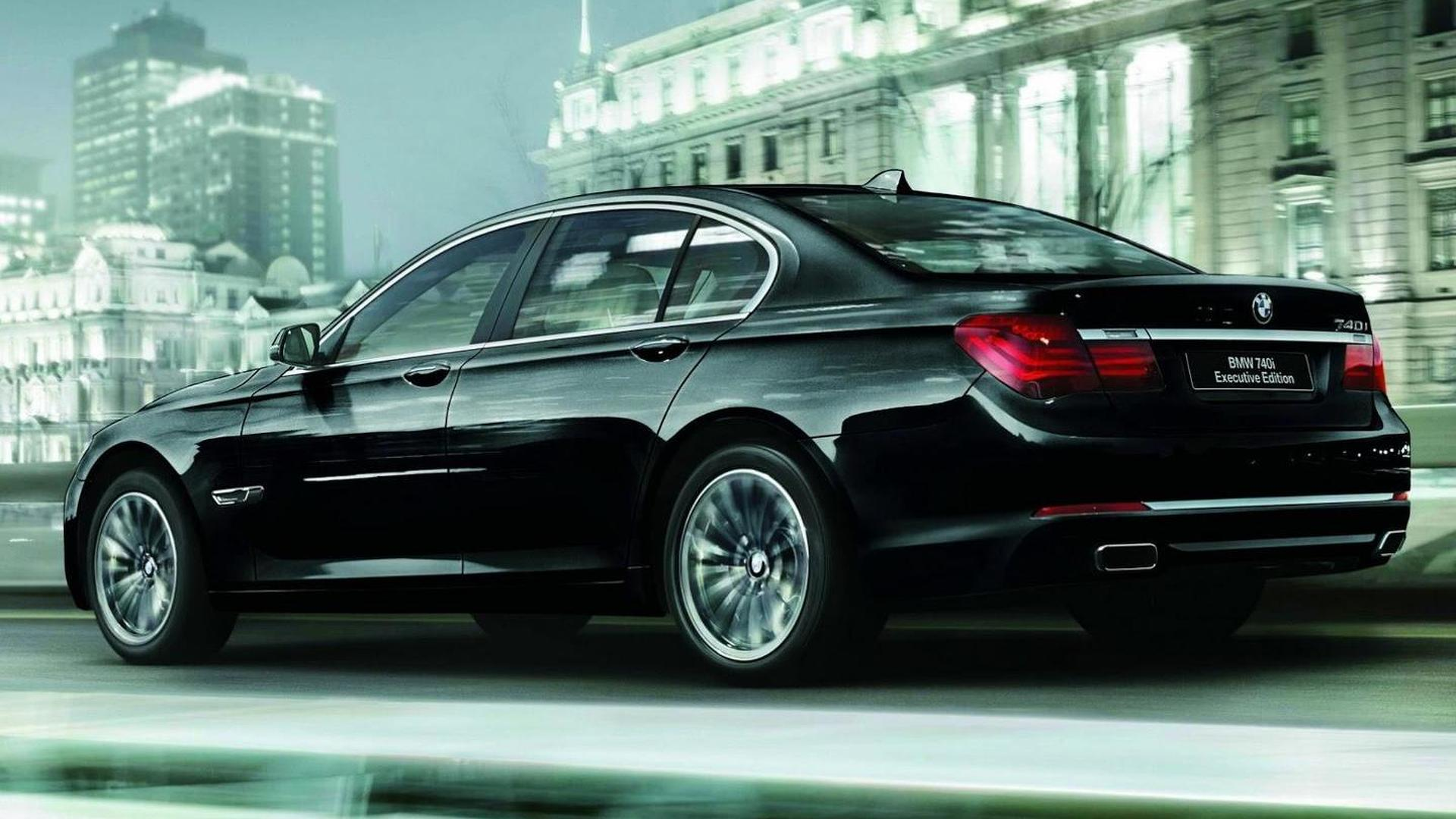 BMW 740i Executive Edition launched in Japan