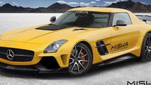 Misha Designs previews Mercedes-Benz SLS AMG body kit