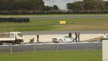 Lamborghini Aventador Roadster goes up in flames during media demonstration in Australia