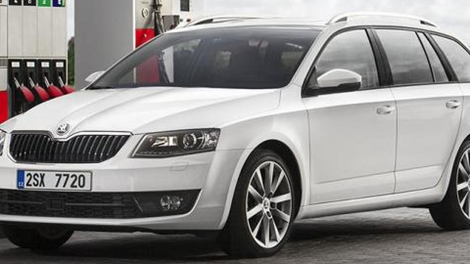 Skoda Octavia G-TEC announced, runs on compressed natural gas