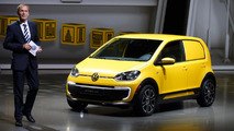 Volkswagen e-load up! concept bows in Frankfurt