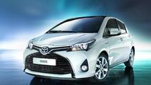 Toyota Yaris Hybrid facelift (EU-spec)