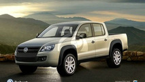 RENDERED: Check The New VW Robust Pick-Up Truck
