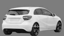 Mercedes A-Class revealed in patent filing