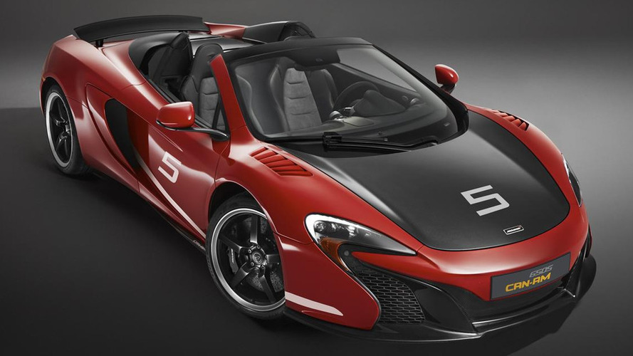 McLaren celebrates Can-Am 50th anniversary with limited edition 650S Spider