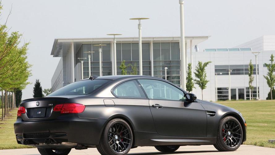 BMW M3 Frozen Black special edition announced