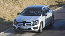 2017 Mercedes GLA spy photo