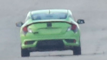 Honda Civic Coupe spy photo