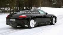 Porsche Panamera Stuck in Snow