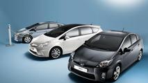 Toyota Prius Plus full hybrid MPV - 01.03.2011