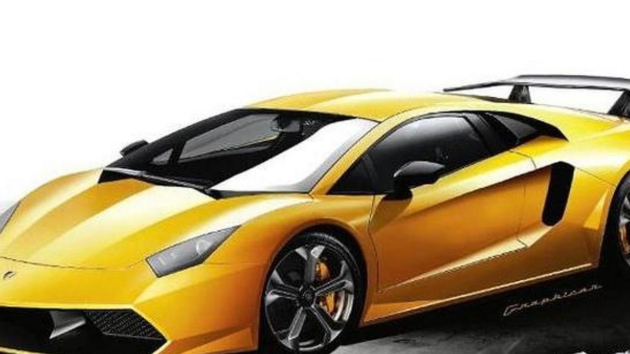 Lamborghini LP 700-4 artist rendering, 675, 20.12.2010