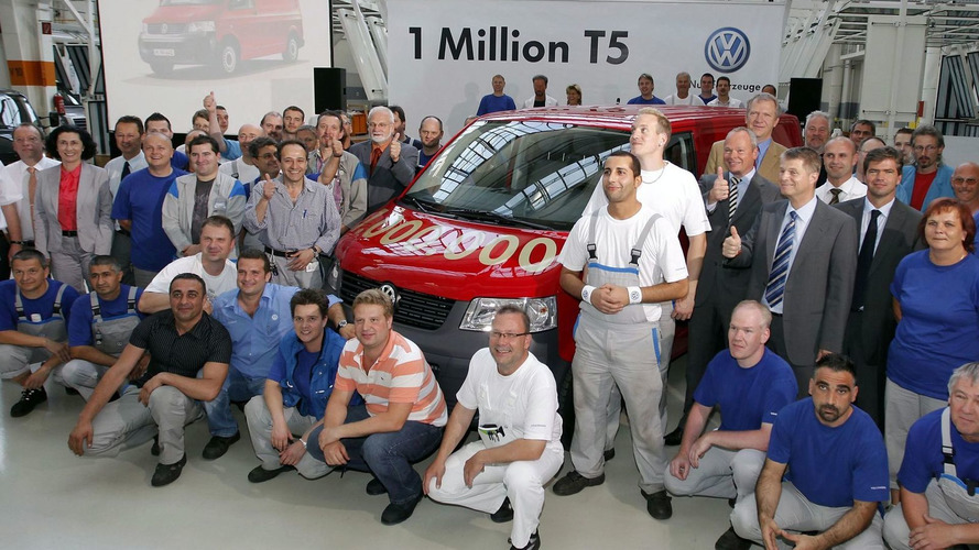 VW builds 1 millionth T5 van