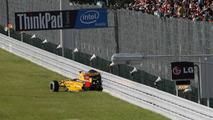 Petrov to drop five grid places in Korea