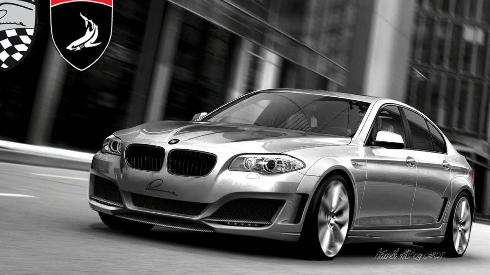 2011 BMW 5-Series by TopCar, Cardi and Lumma Design Previewed