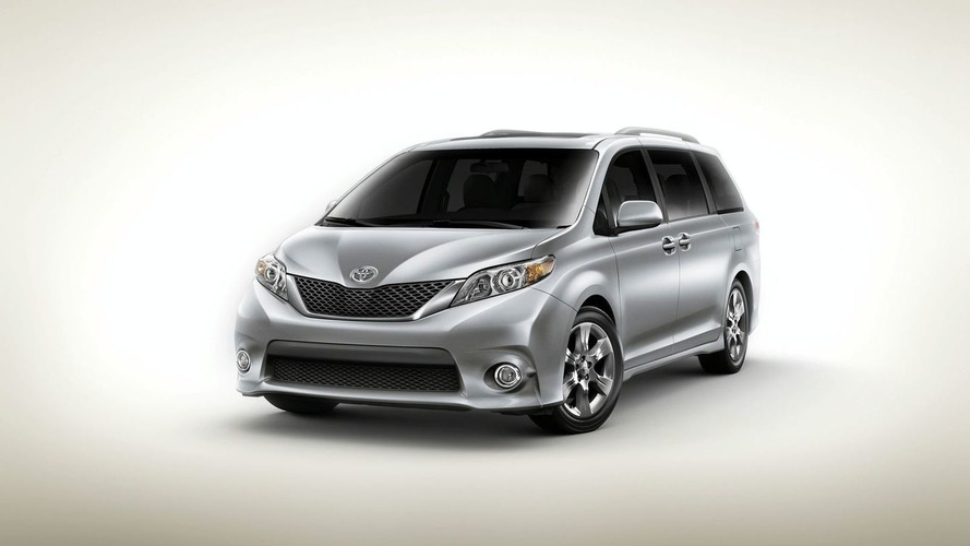 2011 Toyota Sienna World Debut at LA Auto Show