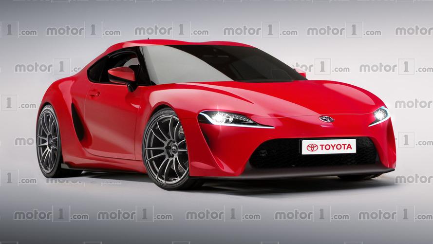 Much-hyped Toyota Supra revival digitally imagined