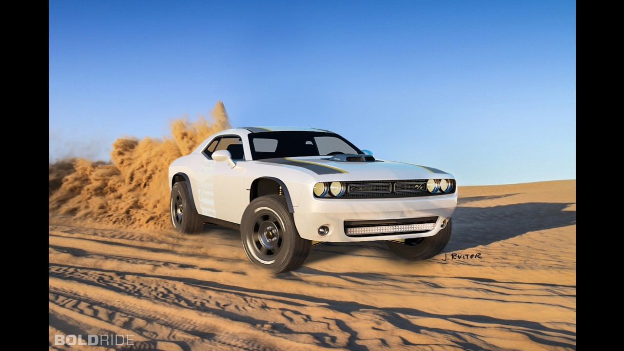Dodge Challenger A/T Untamed Concept by J. Ruiter