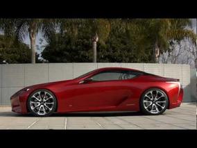 2012 Lexus LF-LC Concept B-Roll
