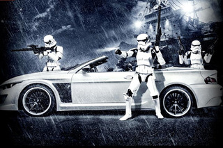 Join the Dark Side with this BMW M6 'Stormtrooper'