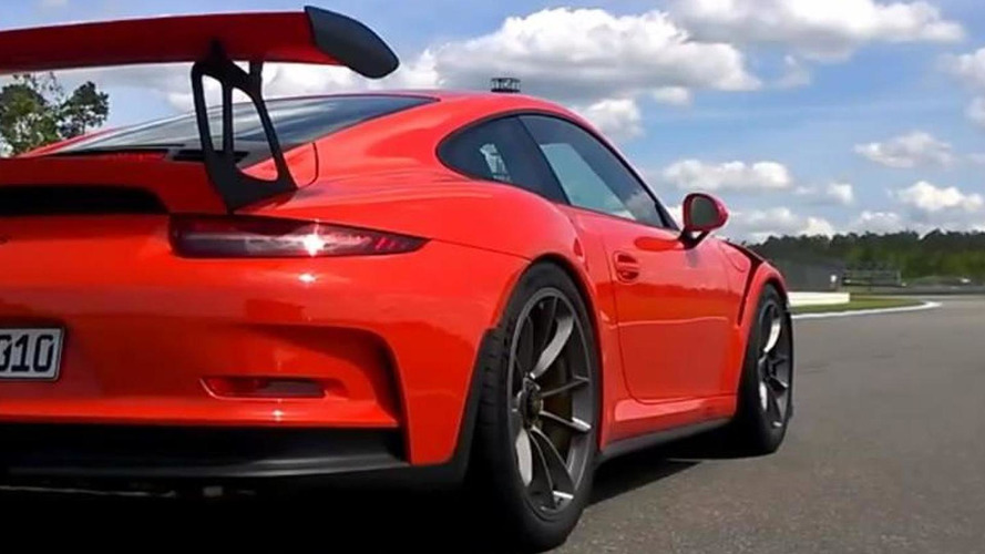 Porsche 911 GT3 RS put through its paces at Hockenheim [onboard video]