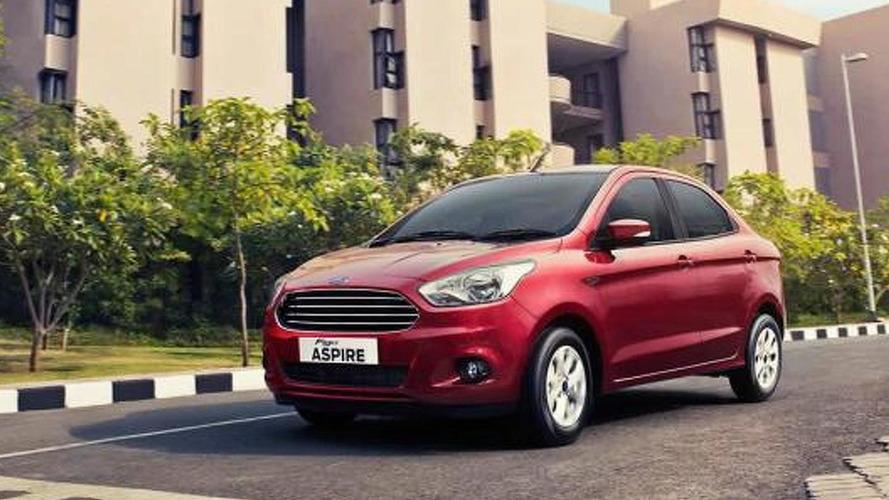 Ford Figo Aspire subcompact sedan launched in India
