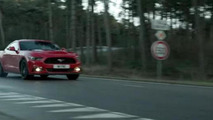 Euro-spec Ford Mustang GT tackles the Lommel Proving Ground [video]